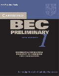 Cambridge BEC 1 Preliminary Student`s Book with answers