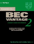 Cambridge BEC 2 Vantage Student`s Book with answers