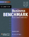 Business Benchmark Pre-intermediate - Intermediate Teacher`s Resource Book BEC and BULATS edition