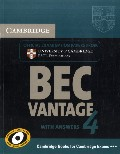 Cambridge BEC 4 Vantage Student`s Book with answers