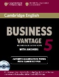 Cambridge English Business 5 Vantage Self-study Pack (Student`s Book with answers and Audio CDs (2))