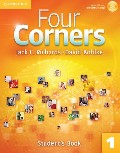 Four Corners Level 1 Student`s Book with Self-study CD-ROM