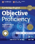 Objective Proficiency Second edition Student`s Book Pack (Student`s Book with answers with Downloadable Software and Class Audio CDs (2))
